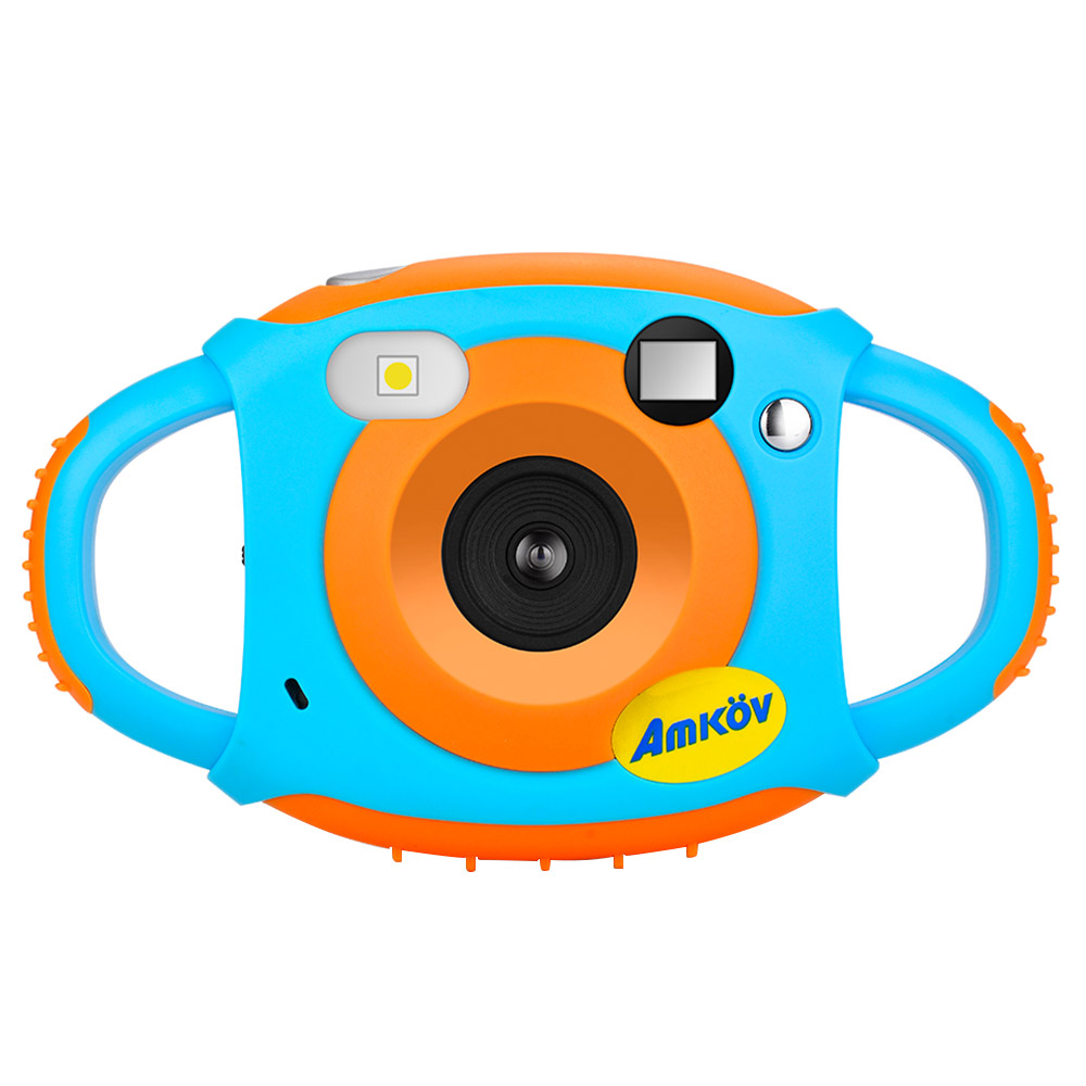 AMKOV CD-FP Digital Kids Camera Mini Por