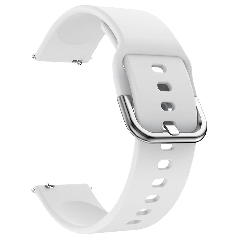 Ersatz-Uhrenarmband für Huami Amazfit GTS Silicon Strap - Weiß