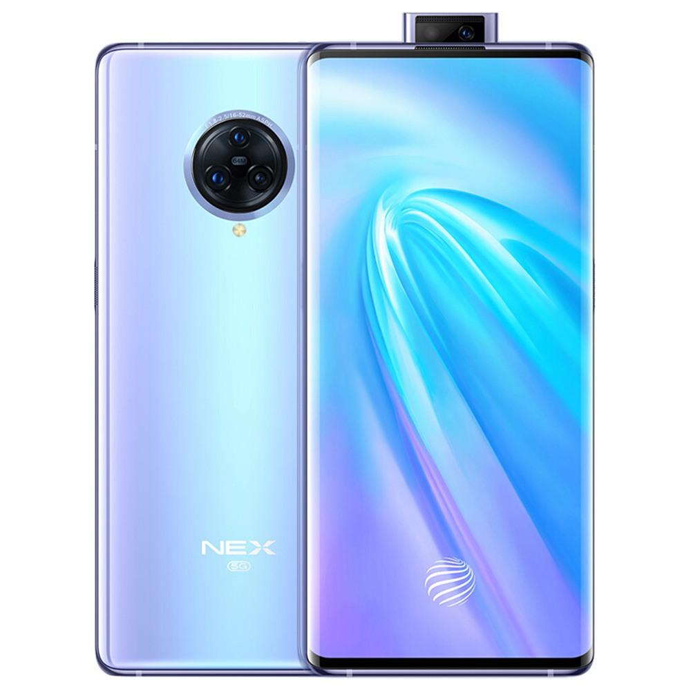 Vivo NEX 3 CN Versione 5G Smartphone 6.89 pollici Snapdragon 855 Plus 8 GB 256 GB 64.0 MP + 13.0 MP + 13.0 MP Telecamere posteriori triple NFC ID impronta digitale Doppia SIM Funtouch OS 9.1 - Argento