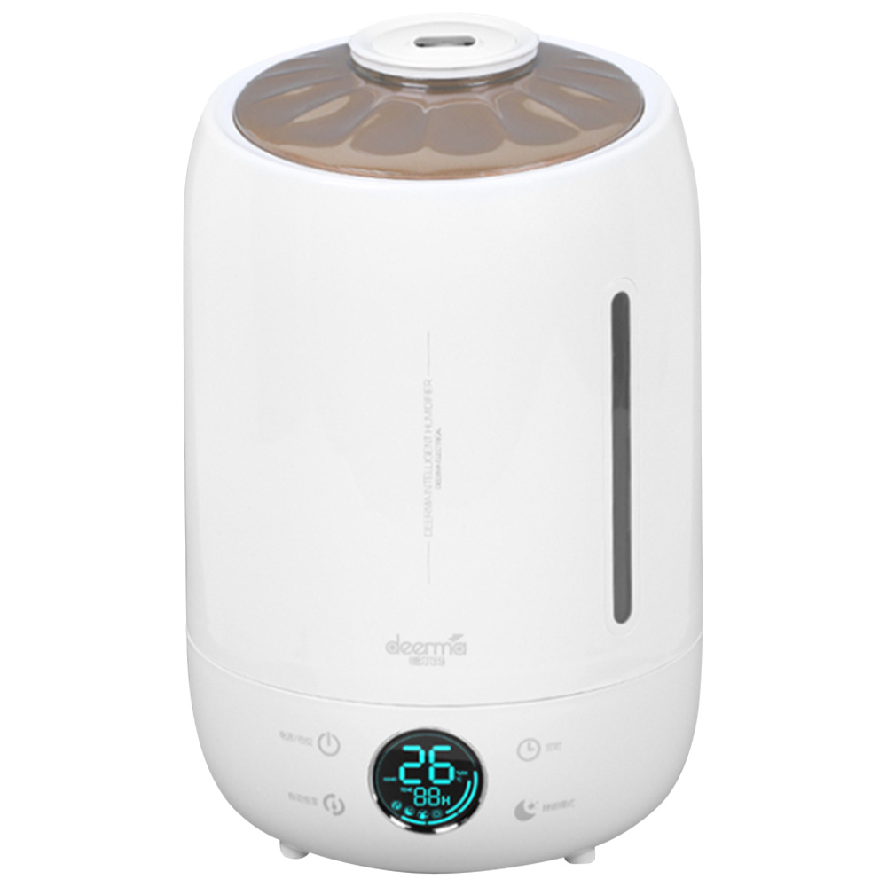 DEERMA DEM F500 Household Ultrasonic Humidifier 5L Capacity Aromatherapy Machine Updated Version - White