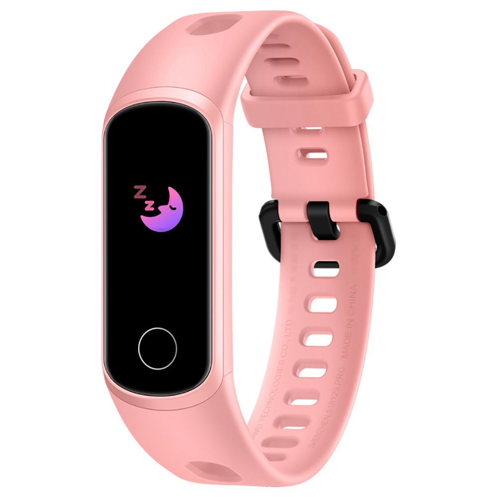 HUAWEI Honor 5i Smart Bracelet 0.96 Inch AMOLED Touch Large Color Screen 5ATM Blood Oxygen Heart Rate Monitor Swimming Posture Recognition - Pink