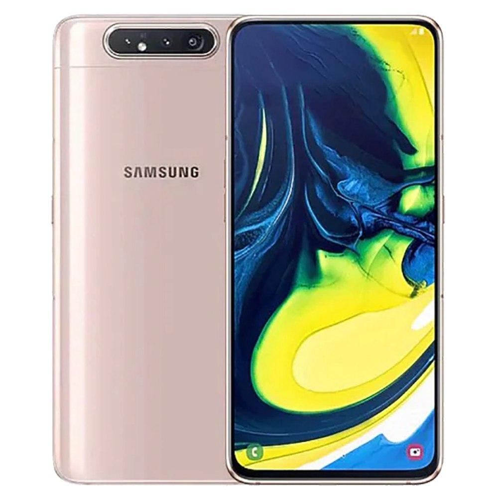 Samsung Galaxy A80 CN Version 4G Smartphone 6.7 Inch Snapdragon 730G 8GB 128GB 48.0MP+8.0MP+3D Depth Camera Triple Rear Cameras NFC Fingerprint ID Dual SIM Android 9.0 - Rose Gold фото
