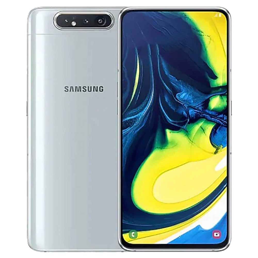 Samsung Galaxy A80 CN Version 4G Smartphone 6.7 Inch Snapdragon 730G 8GB 128GB 48.0MP+8.0MP+3D Depth Camera Triple Rear Cameras NFC Fingerprint ID Dual SIM Android 9.0 - Sliver фото