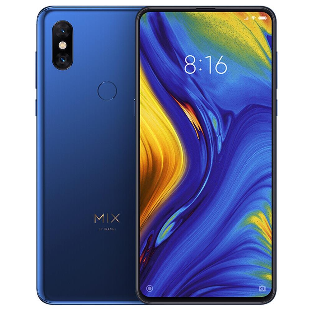 Xiaomi Mi Mix 3 5G Smartphone 6.39 Inch Snapdragon 855 6GB 128GB 12.0MP+12.0MP Dual Rear Cameras MIUI 10 Ceramic Body NFC QC4+ Wired Quick Charge Global Version - Blue
