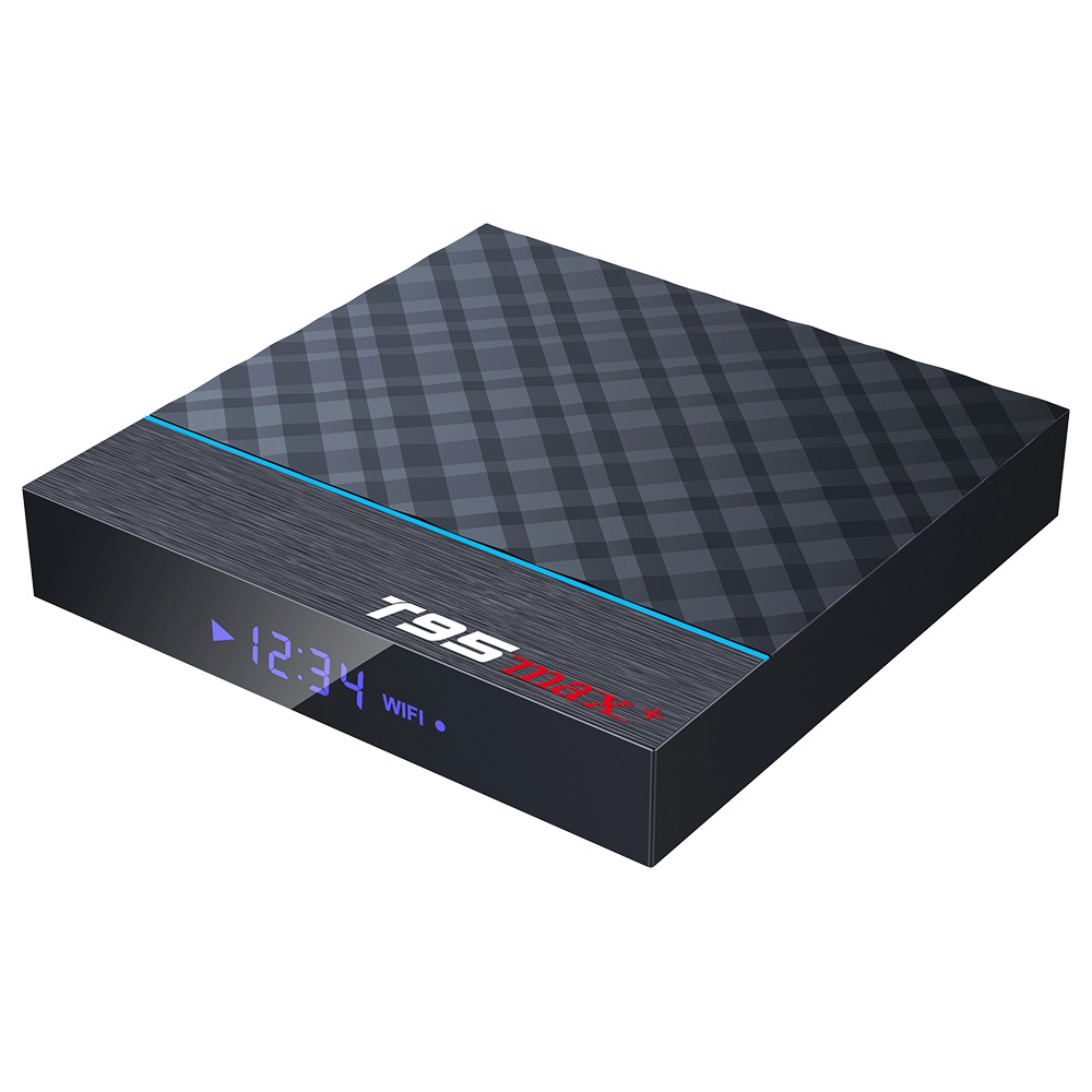 T95 MAX + Amlogic S905x3 Android 9.0 8K Video Decode Gaming TV Box Google Play 4GB / 32GB USB3.0 2.4G + 5G WiFi Bluetooth Bluetooth LAN