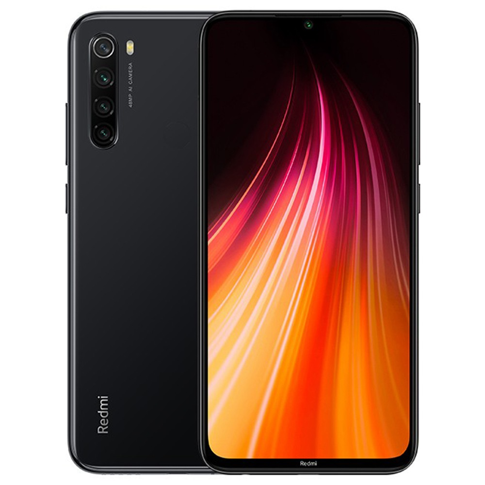 Xiaomi Redmi Note 8T 6.3 Inch 4G LTE Smartphone Snapdragon 665 4GB 64GB 48.0MP+8.0MP+2.0MP+2.0MP Quad Rear Cameras Fingerprint ID NFC Dual SIM Android 9.0 Global Version - Gray