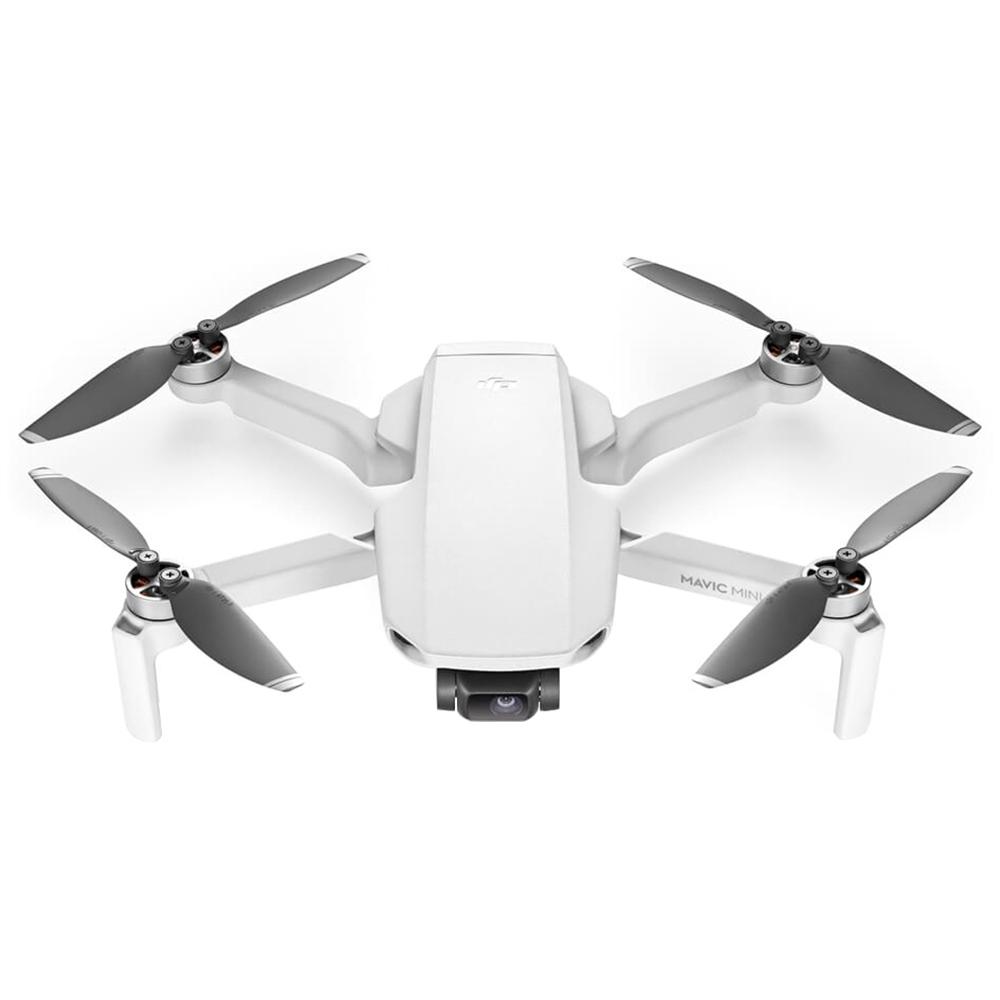 DJI Mavic MINI 4KM FPV 249g Ultralight GPS مع طيار RC مع 3-Axis 2.7K Gimbal Camera 30mins Flight Time White - إصدار Fly Combo