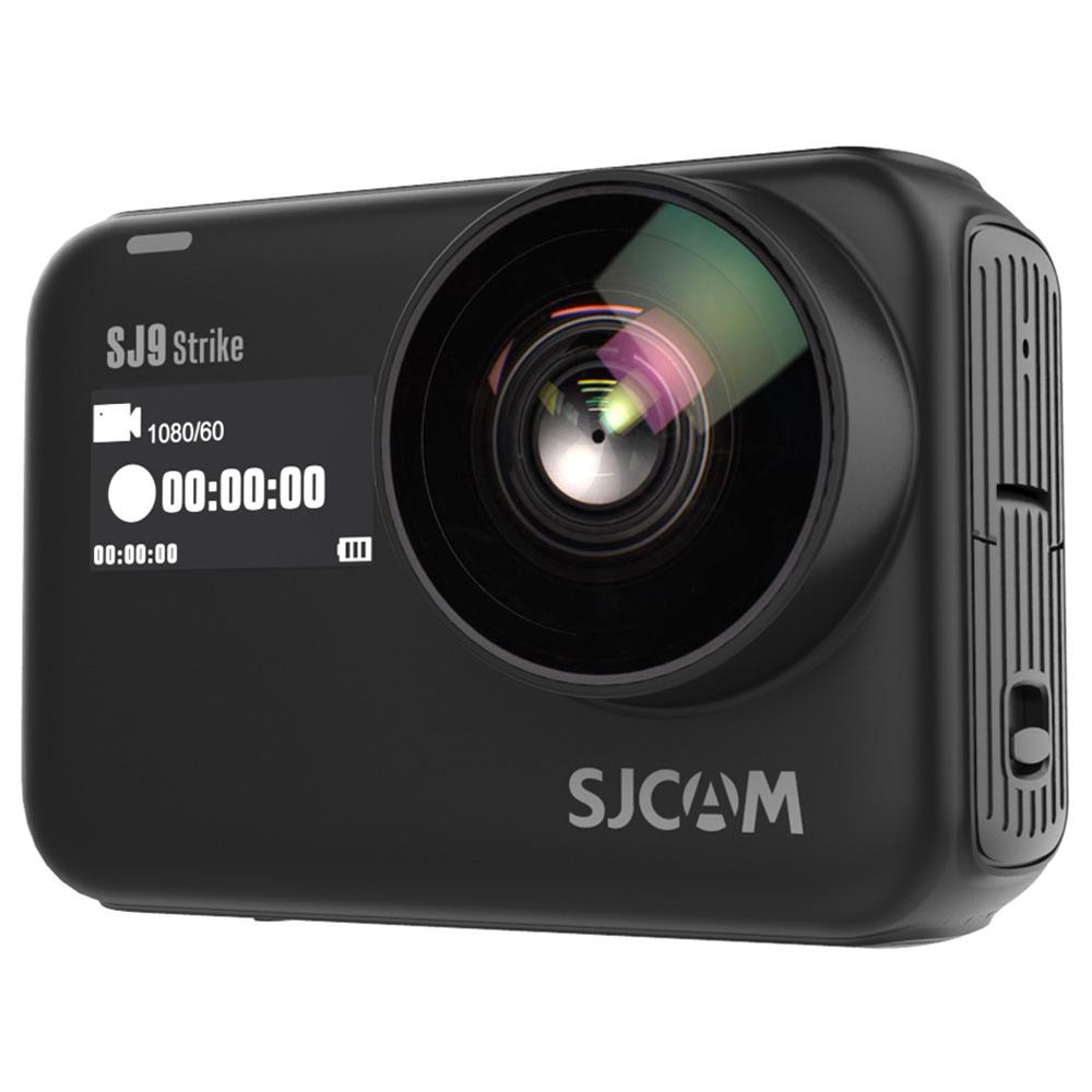 SJCAM SJ9 Strike 4K WiFi Action Camera 2.33 Inch IPS Screen 12MP Sony IMX 377 Sensor Wireless Charging Waterproof Body - Black