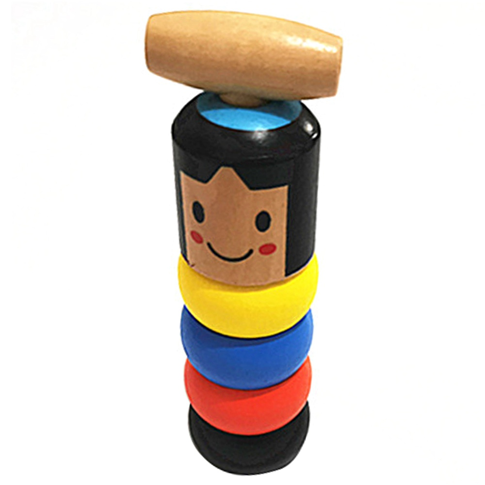 Unbreakable Wooden Man Magic Toy Funny Tricks Props Gift For For Halloween Christmas