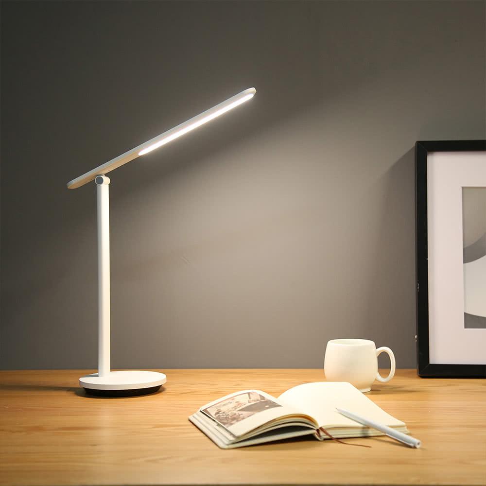 Yeelight YLTD14YL töltő összecsukható asztali lámpa Pro 5W újratölthető hordozható tompítható - fehér