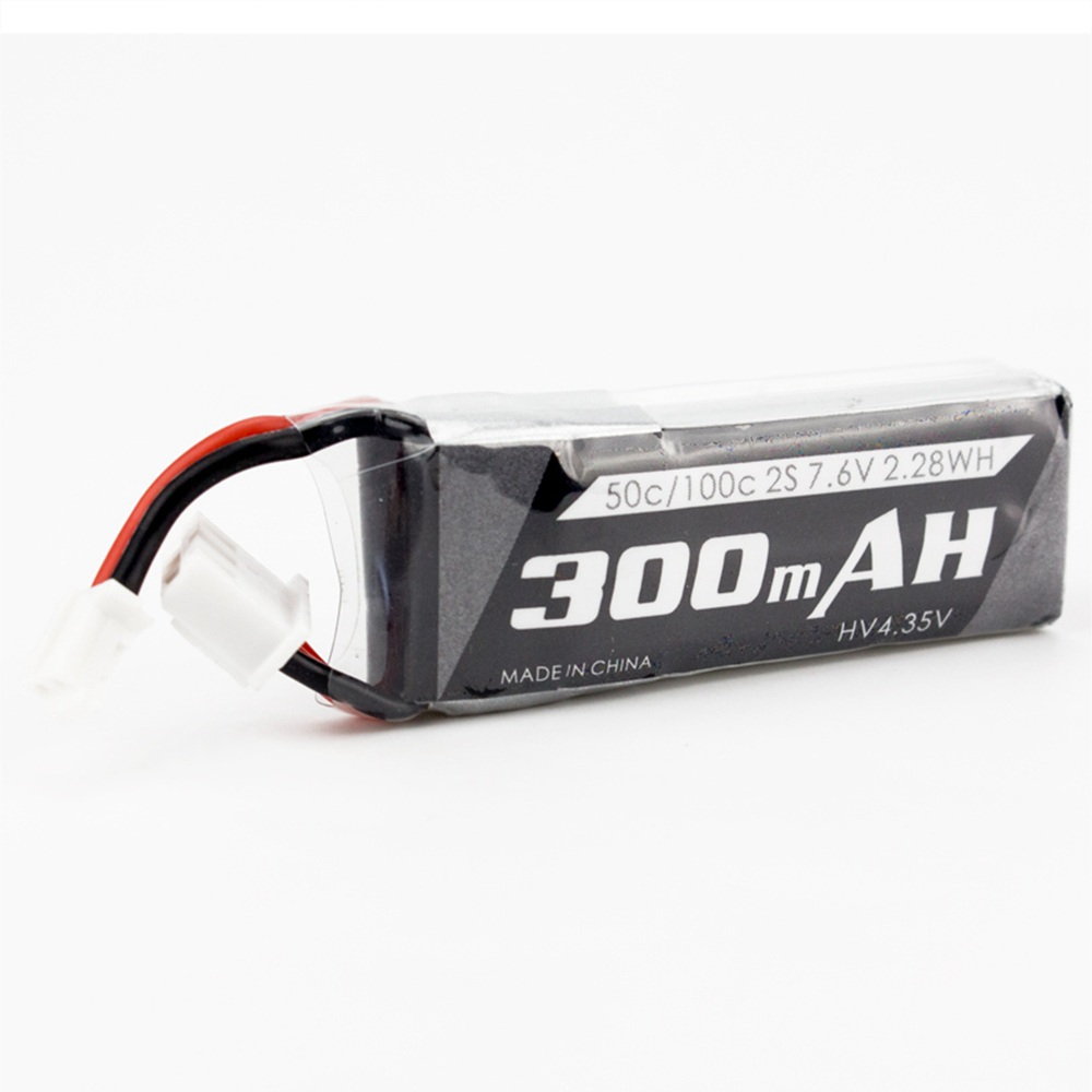 Emax Tinyhawk S Micro Indoor FPV Racing Drone Spare Parts 2S 7.4V 300mAh 35C Lipo Battery