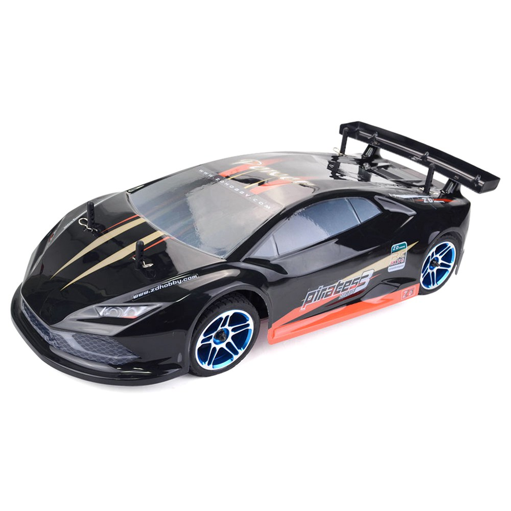 زد ريسينغ بايرتس 3 TC-10 1 / 10 2.4G 4WD 60km / h صامد للفرشاة RC فرش ماء السيارة الكهربائية Tourning Car RTR - أسود