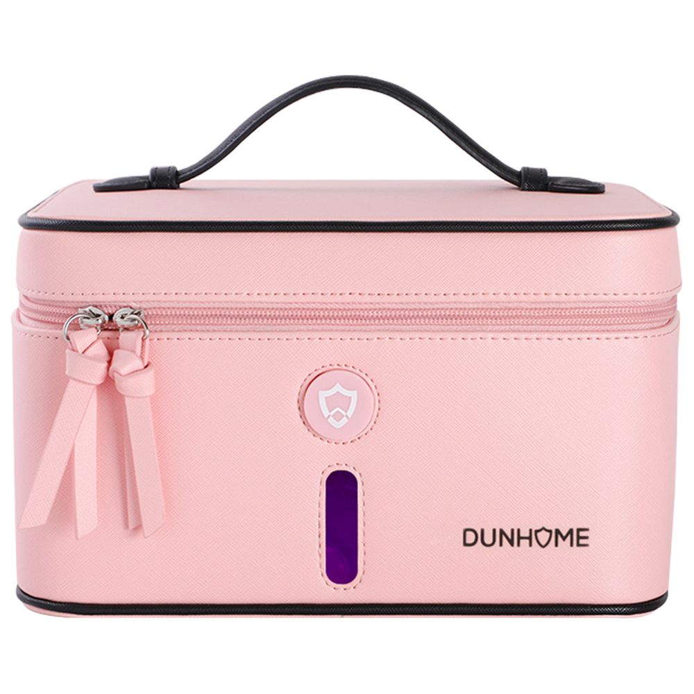 Dunhome 8W Anion Sterilizing Box Portable Deodorant Anti-bacterial For Outdoor Travel From Xiaomi Youpin - Pink