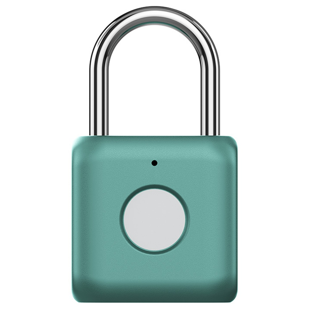 YOUDIAN Smart Fingerprint Padlock Kitty USB Charging Keyless Lock For Gym Door Bicycle Suitcase From Xiaomi Youpin - Green