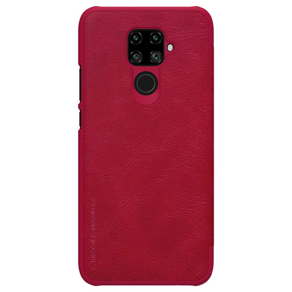 NILLKIN Protective Leather Phone Case For HUAWEI Nova 5i Pro Smartphone - Red фото