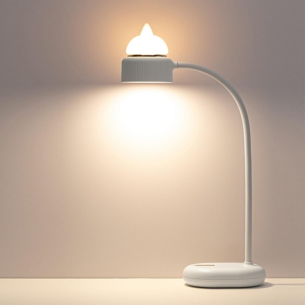 Bcase Cat LED Schreibtischlampe verstellbare tragbare Mini-Leselampe für Schlafzimmer Studie von Xiaomi Youpin - Weiß