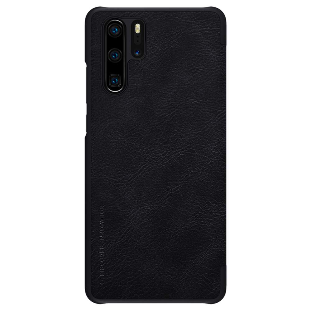 NILLKIN Protective Leather Phone Case For HUAWEI P30 Pro Smartphone - Black фото