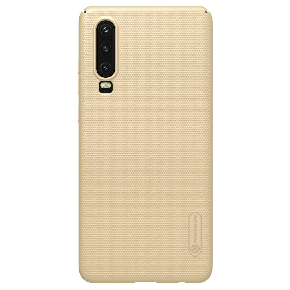 NILLKIN Protective Frosted PC Phone Case For HUAWEI P30 Smartphone - Gold фото
