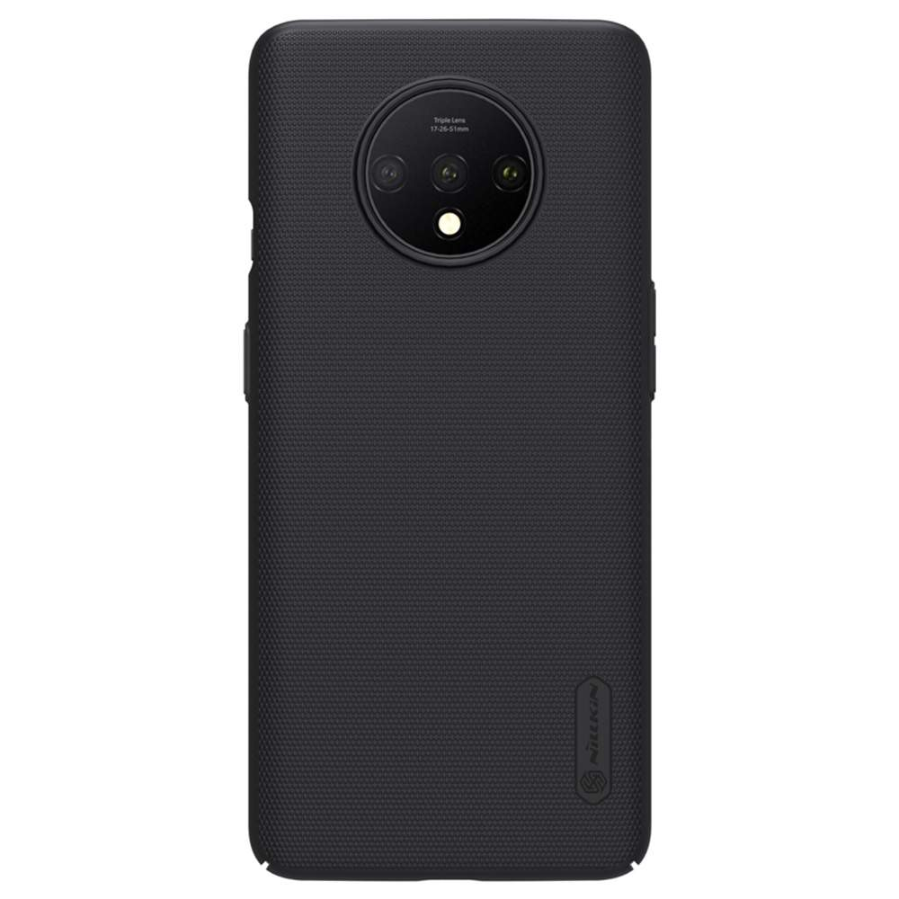 NILLKIN Protective Frosted PC Phone Case For Oneplus 7T Smartphone - Black