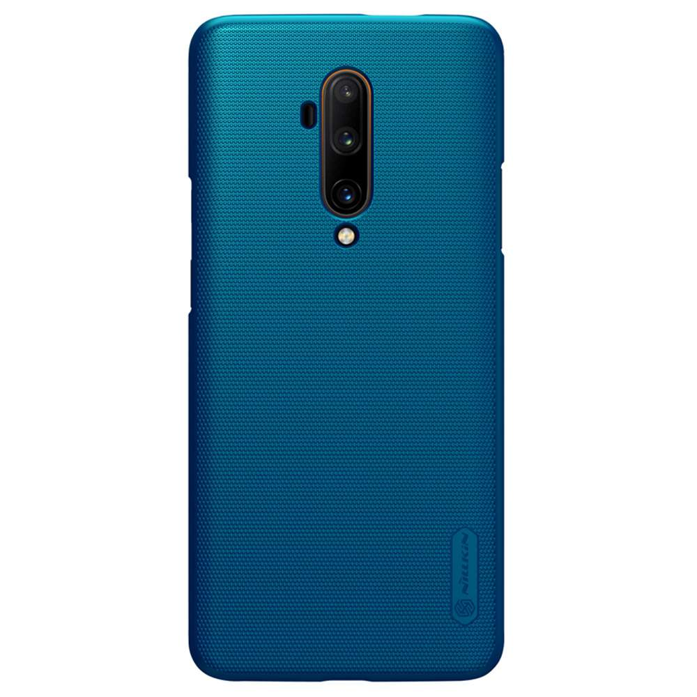 NILLKIN Protective Frosted PC Phone Case For Oneplus 7T Pro Smartphone - Blue фото