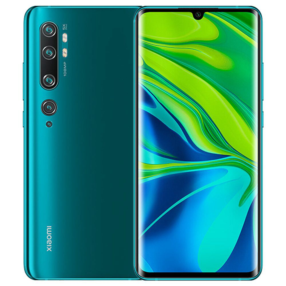 شياومي مي نوت 10 6.47 Inch 4G LTE الهاتف الذكي Snapdragon 730 6GB 128GB 108.0MP + 12.0M + 20.0MP + 5.0MP + 2.0MP Penta الكاميرات الخلفية NFC Fingerprint ID Dual SIM MIUI 11 Global