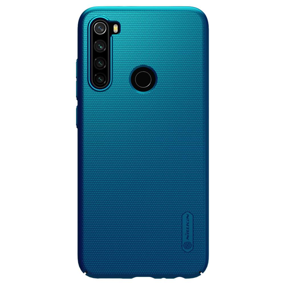 NILLKIN Protective Frosted PC Phone Case For Xiaomi Redmi Note 8 Smartphone - Blue