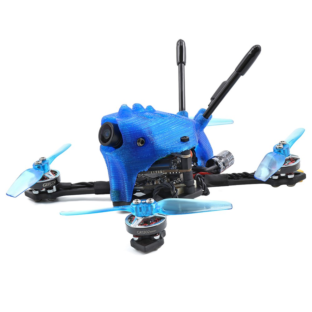 Geprc Skip HD 2.5 Inch 3S Toothpick FPV Racing Drone With GEP-12A-F4 5.8G 200mW VTX Caddx Baby Turtle V2 Cam BNF - Frsky XM+ Receiver