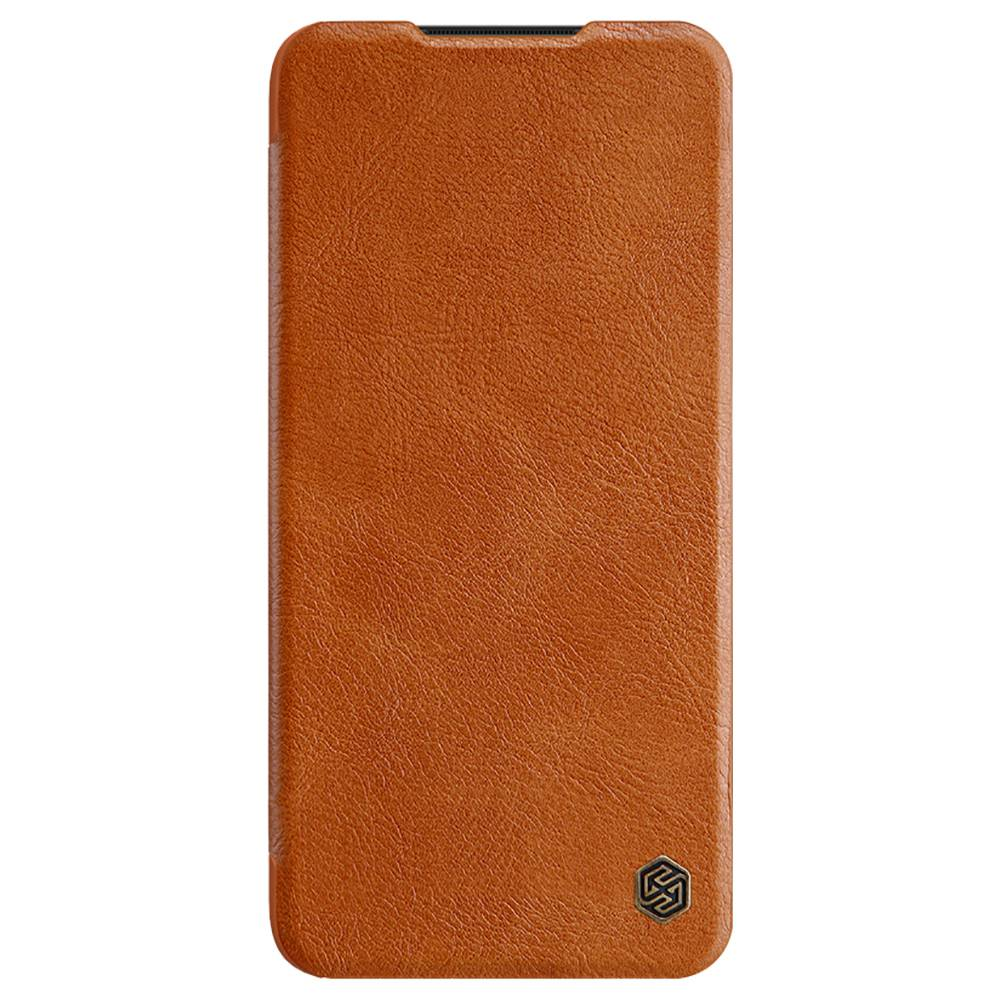 NILLKIN Protective Leather Phone Case For Xiaomi Redmi Note 8 Pro Smartphone - Brown