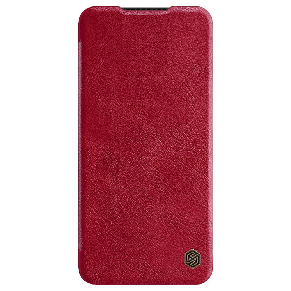 NILLKIN Protective Leather Phone Case For Xiaomi Redmi Note 8 Pro Smartphone - Red