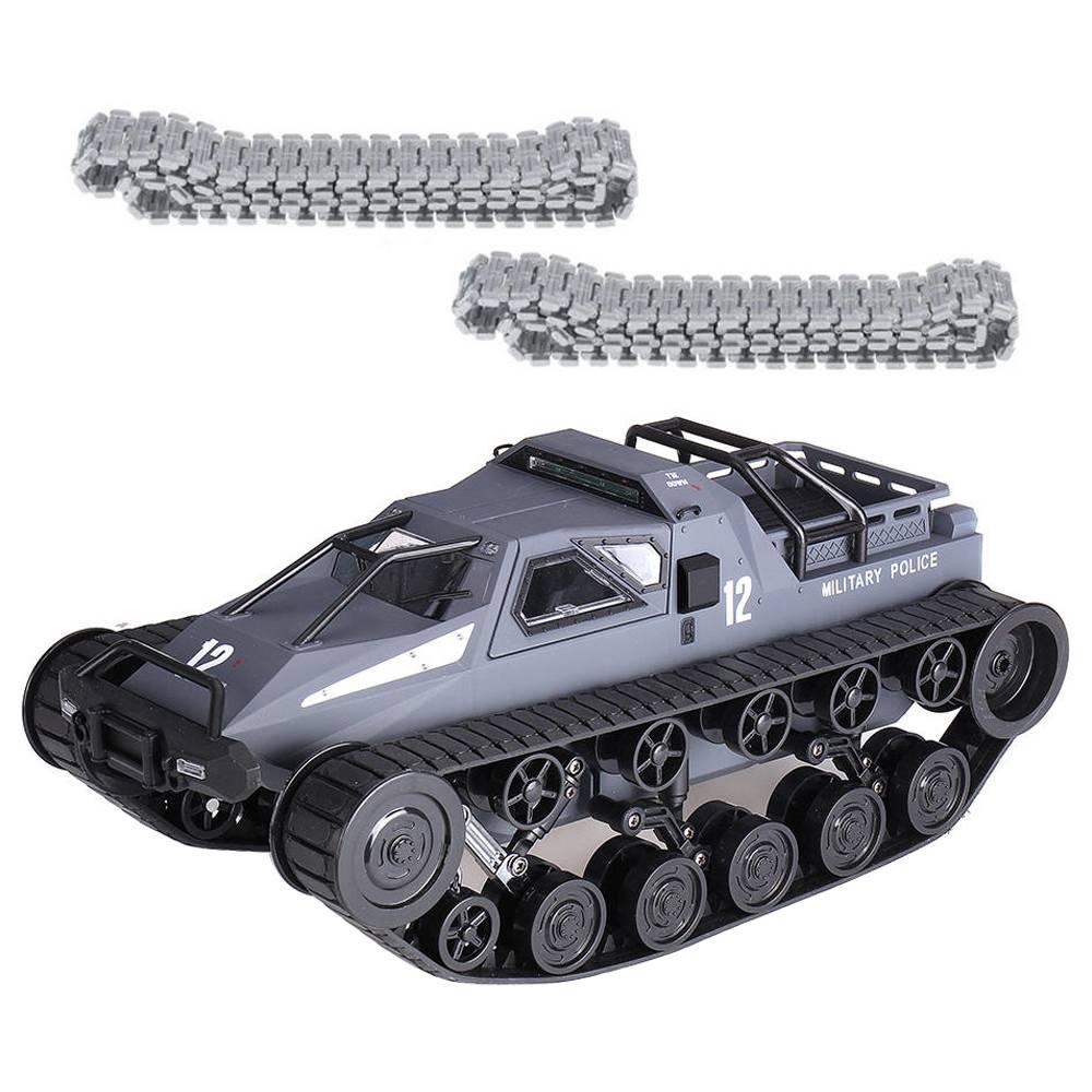 SG 1203 1: 12 2.4G Katonai Rendőrségi Drift RC tartály 12km / h Nagysebességű RC jármű RTR fém műanyag nyomtávval - szürke