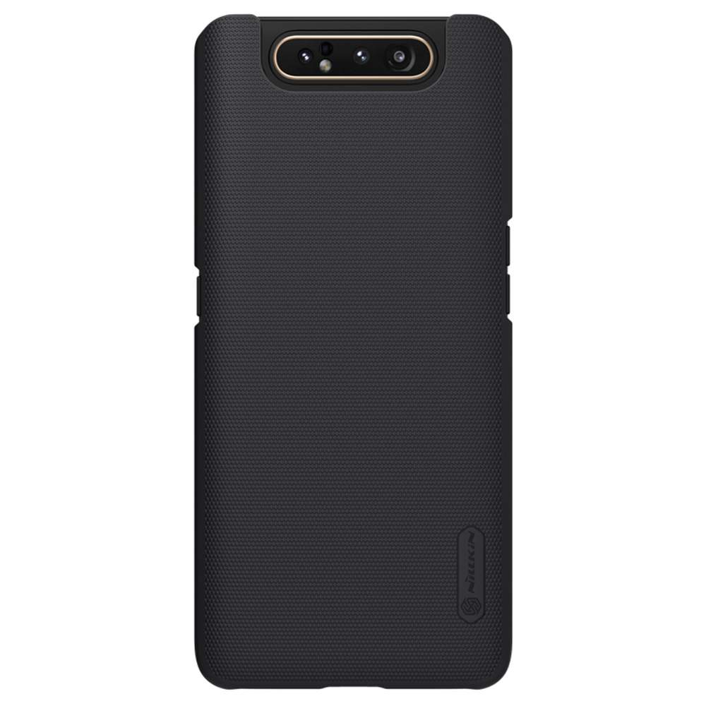 NILLKIN Protective Frosted PC Phone Case For Samsung Galaxy A80 / A90 4G Smartphone - Black