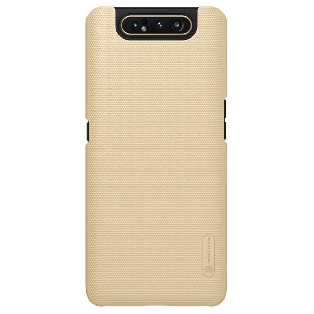 NILLKIN Protective Frosted PC Phone Case For Samsung Galaxy A80 / A90 4G Smartphone - Gold фото