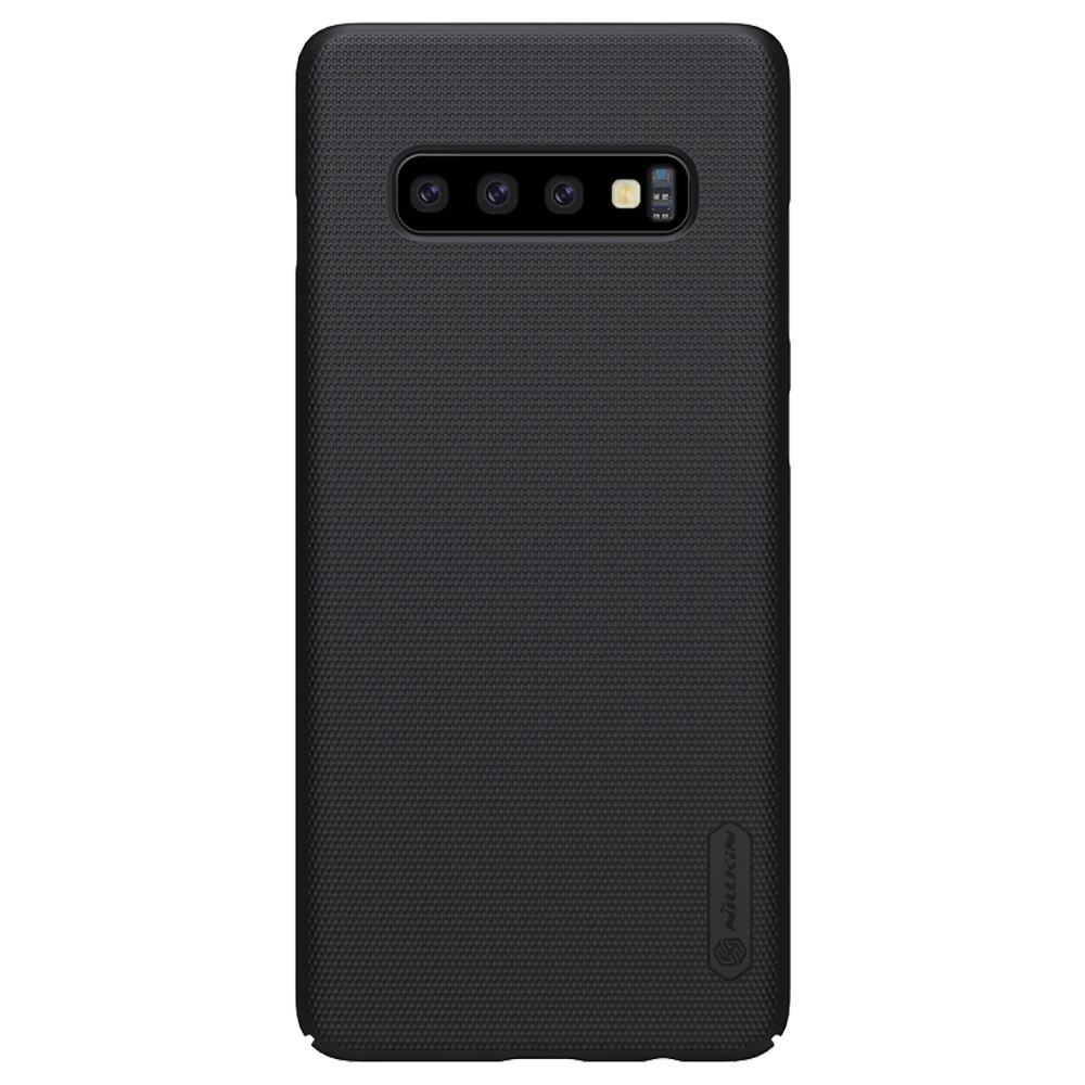 NILLKIN Protective Frosted PC Phone Case For Samsung Galaxy S10 Smartphone - Black