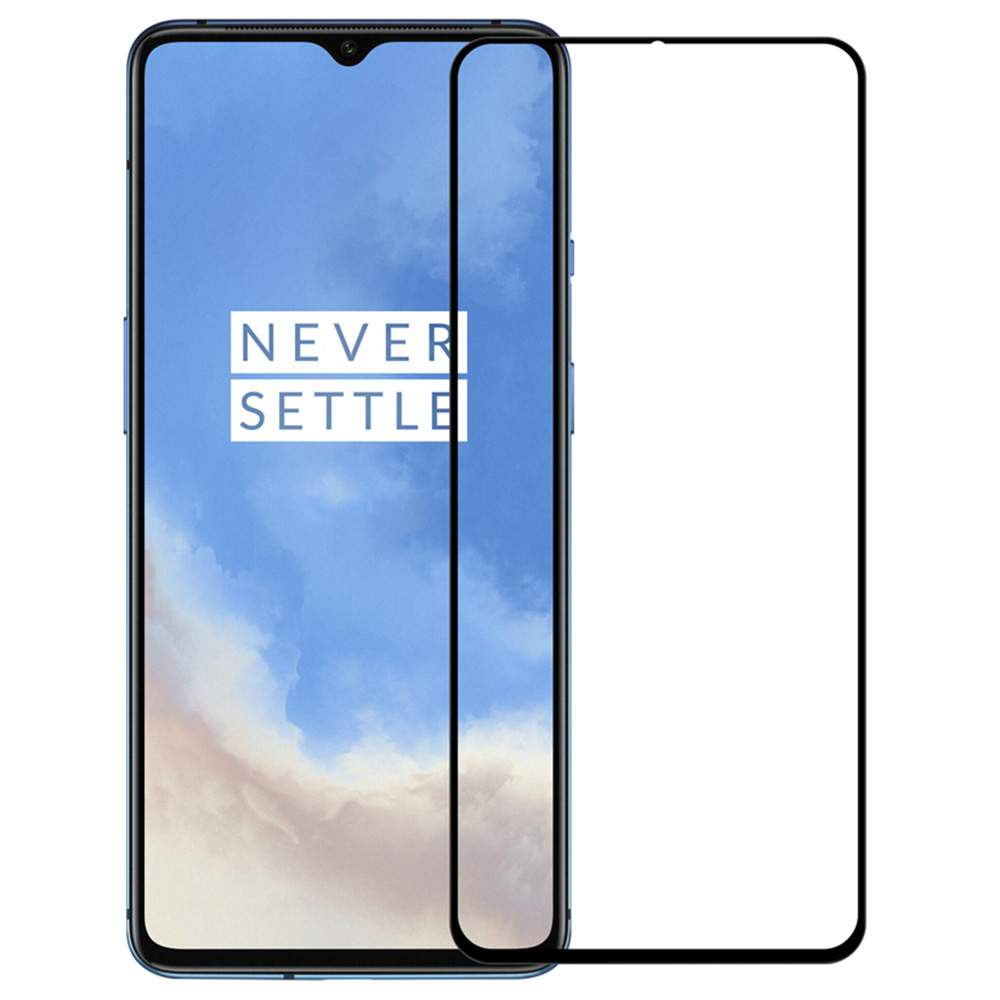 Nillkin CP+PRO Full Screen Anti-explosion Tempered Glass Screen Protector For Oneplus 7T - Transparent фото