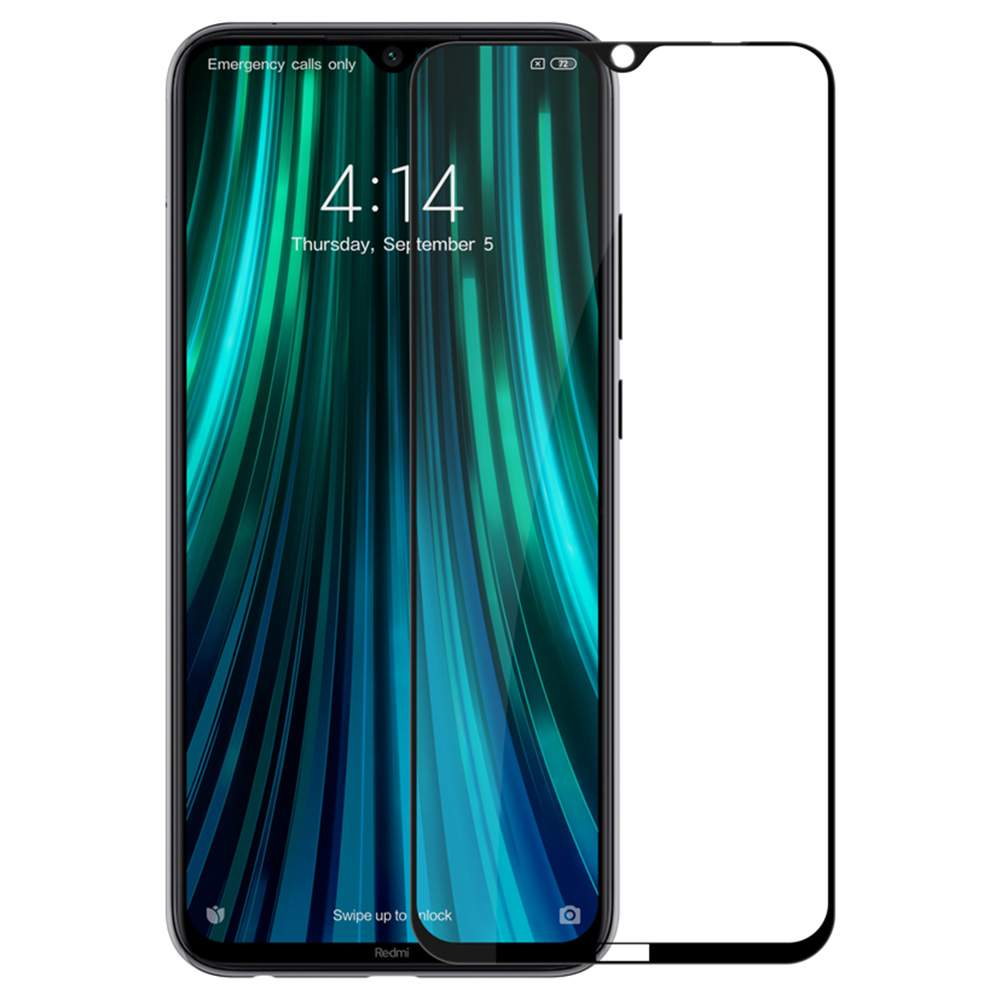 Nillkin CP+PRO Full Screen Anti-explosion Tempered Glass Screen Protector For Xiaomi Redmi Note 8 - Transparent