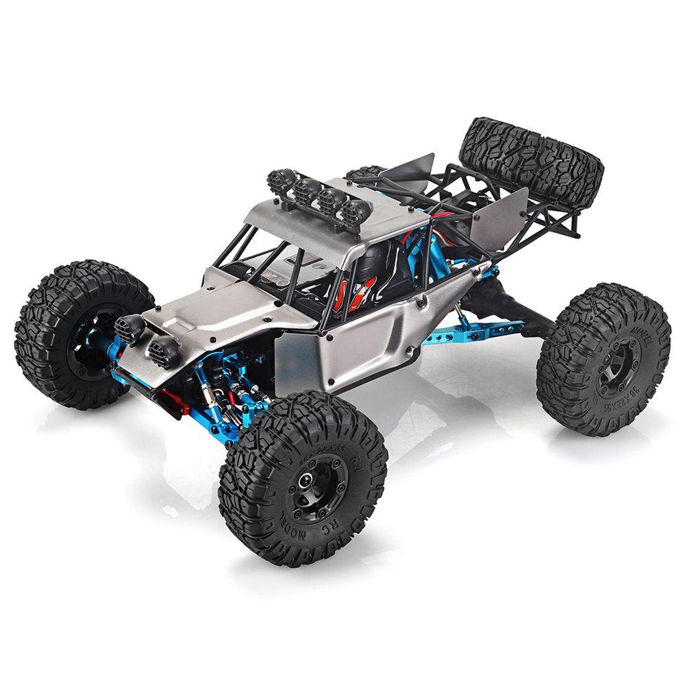 Feiyue FY03HデザートイーグルOPパーツバージョンの交換2.4G 1 / 12 4WDブラシレス電気70km / hオフロードRCカー車両RTR-グレー