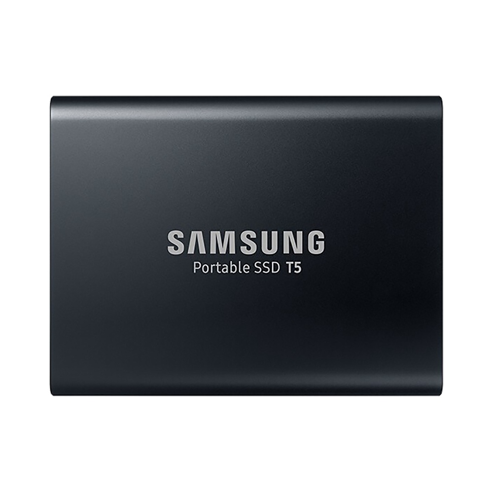 Samsung T5 1TB Portable SSD With USB 3.1 Hardware Encryption - Black
