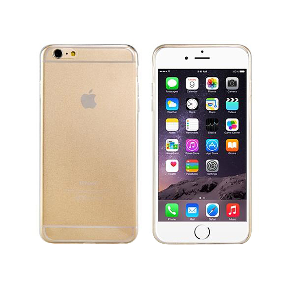 Ultra-thin TPU Rubber Back Cover Case For 5.5