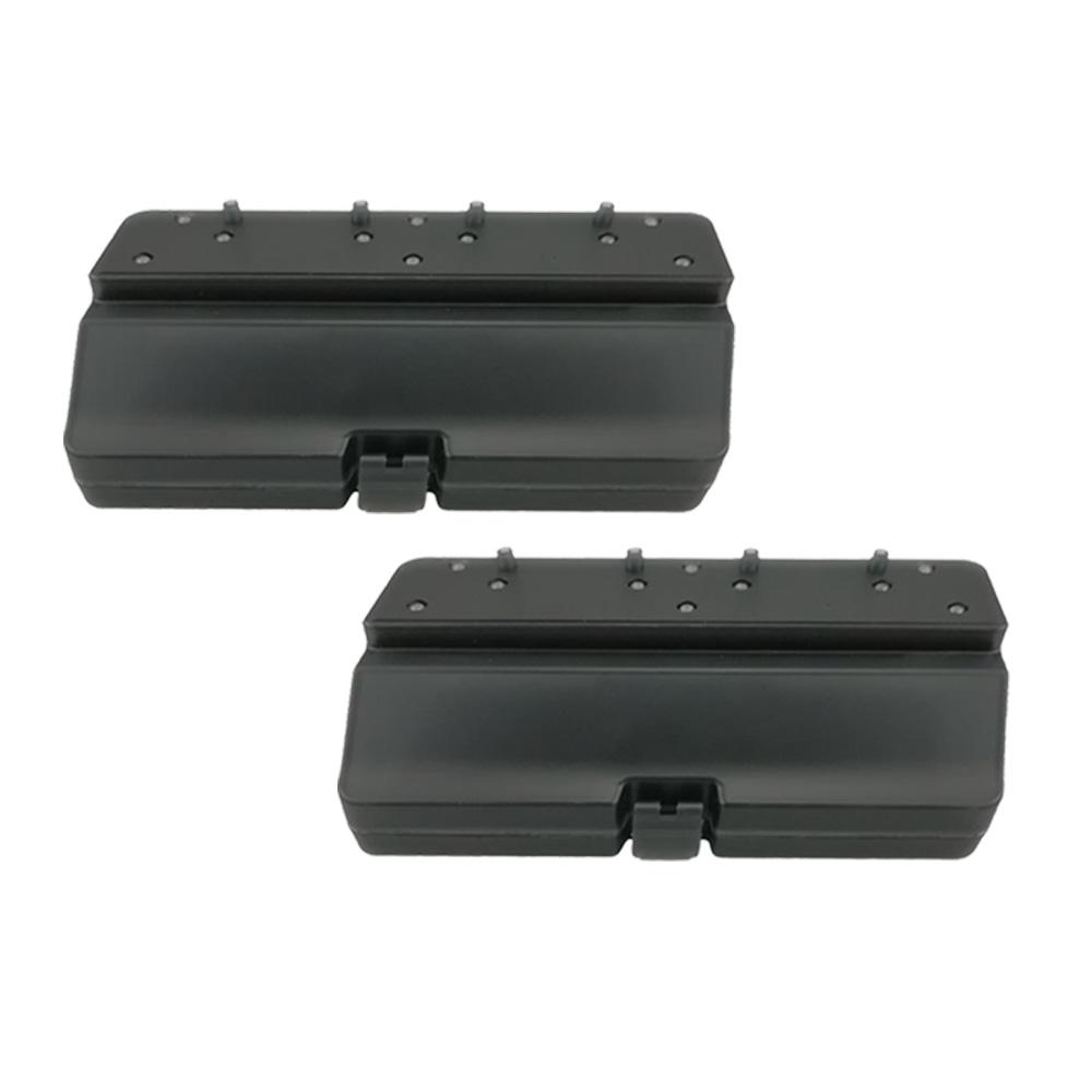 2 個 Xiaomi VIOMI V2/V2 PRO/V3/SE ロボット掃除機水タンク - ブラック