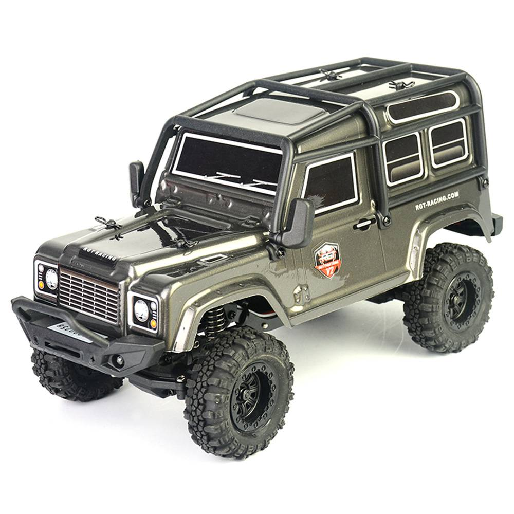 RGT 136240 V2 ADUENTURER 1/24 2.4G 4WD 15km/h MINI Off-road Rock Crawler Climbing Vehicle RC Car Model RTR - Grey фото