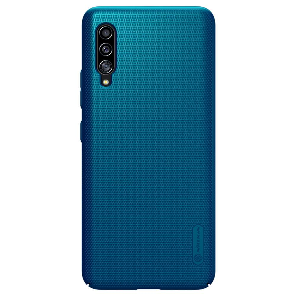 NILLKIN Protective Frosted PC Phone Case For Samsung Galaxy A90 5G Smartphone - Blue