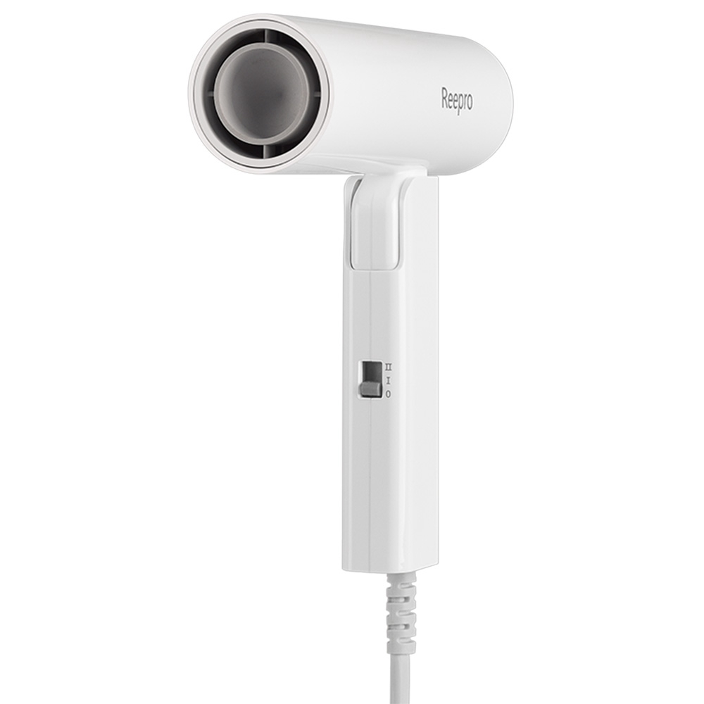 Reepro Ultra-mini Negative Ion Hair Dryer Foldable Portable Quick Dry For Travel And Home From Xiaomi Youpin - White