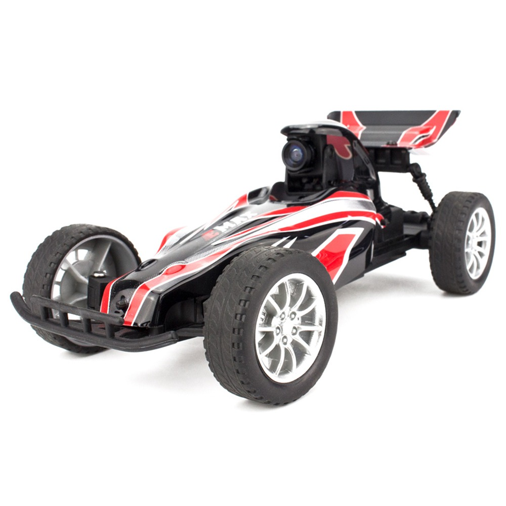 Emax Interceptor Indoor FPV Racing Car 2.4G 1/18 2WD RC Buggy Vehicle With 5.8G 25mW VTX 600TVL Cam RTR - Without FPV Goggles