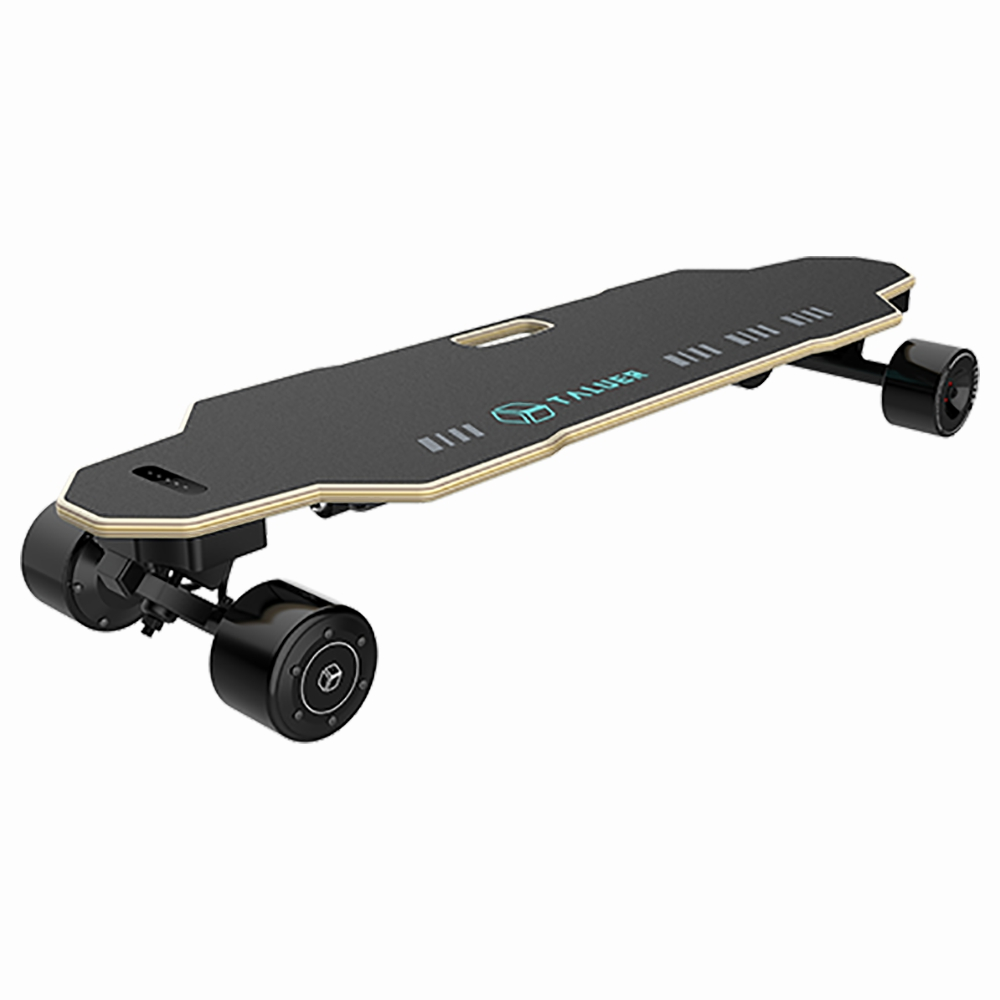 TALU T1003 Body Control Electric Skateboard Hands-free 360W Motor LG 155WH Battery Max 25km/h Speed Up To 20km Range APP Control 83mm Detachable Tires For Adults - Black
