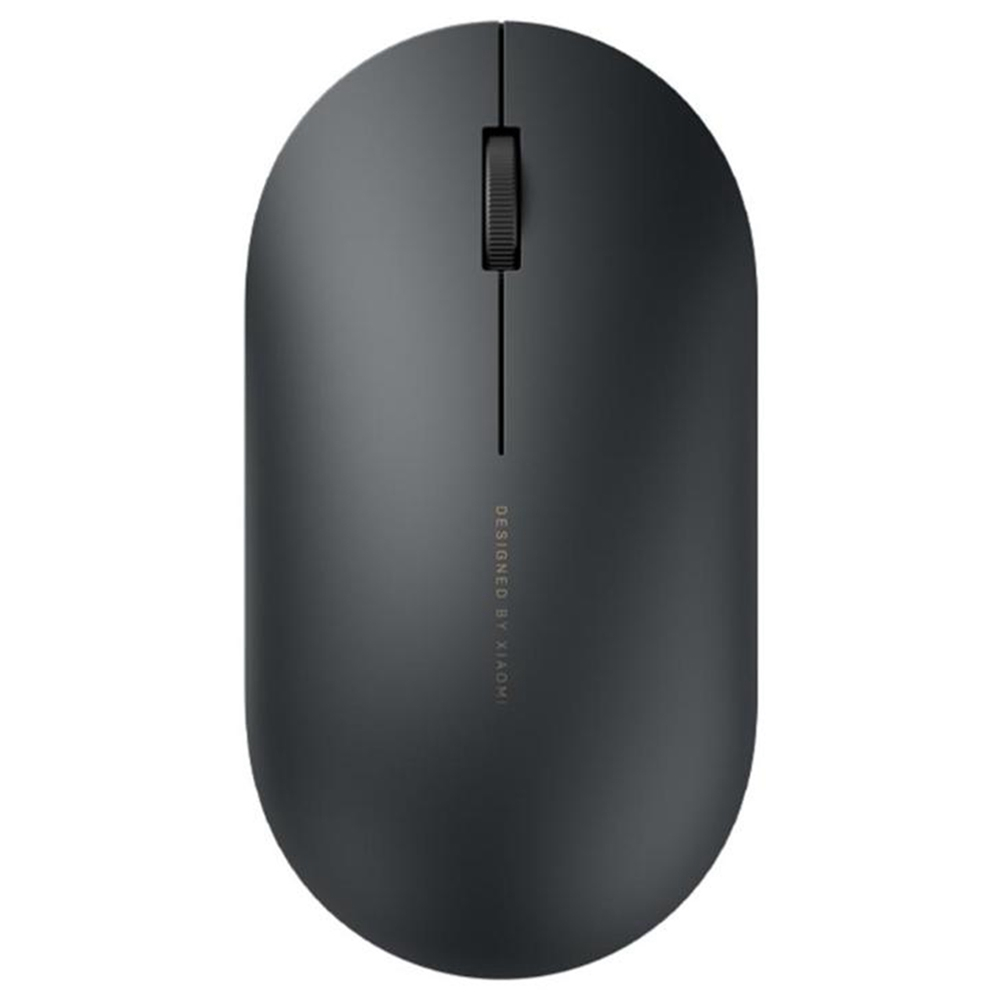 Xiaomi Wireless Mouse 2 Mute Portable Ultra-thin 2.4G Wireless 1000DPI For PC Laptop - Black