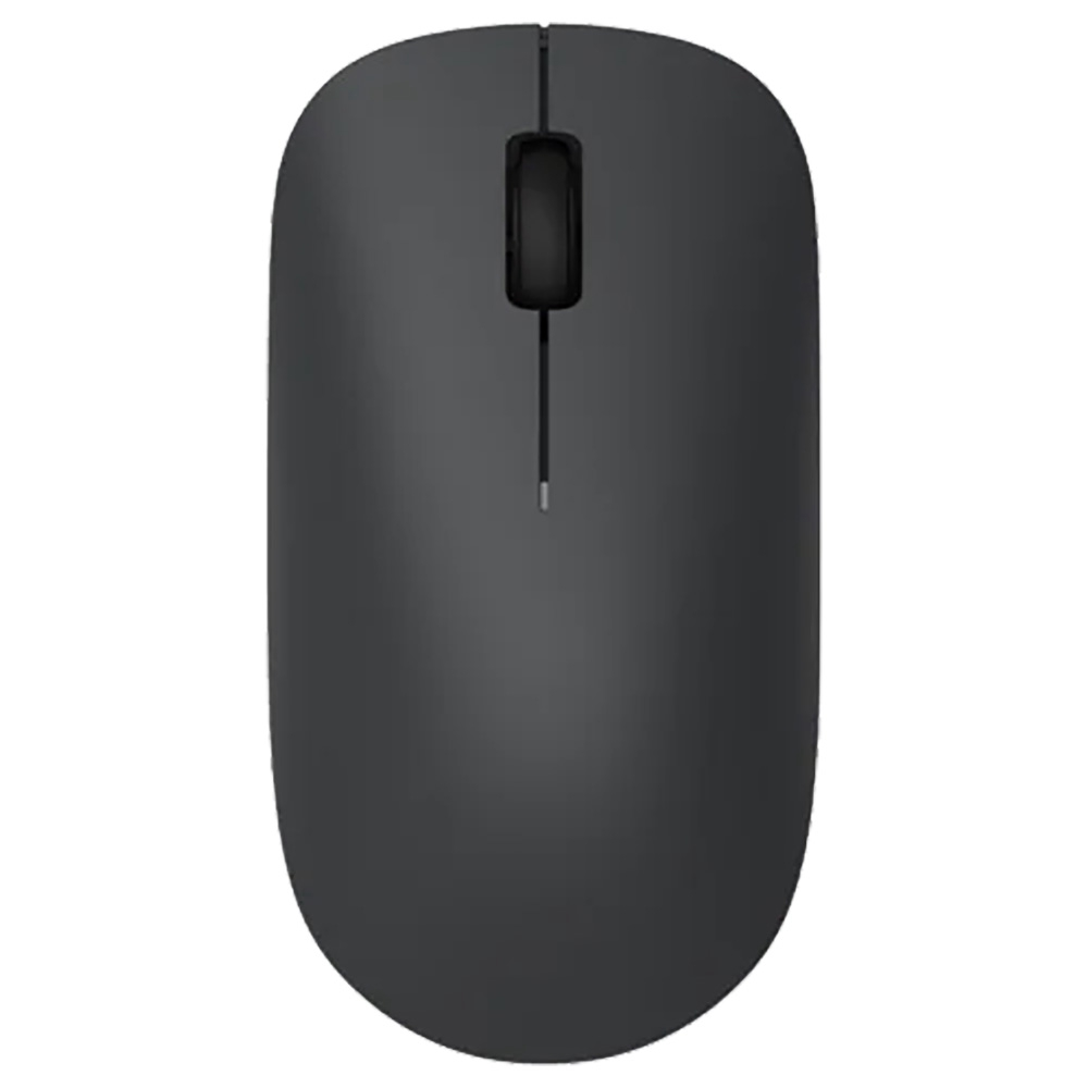 Xiaomi Wireless Mouse Lite Lichtgewicht Flexibel 2.4G Wireless 1000DPI voor pc-laptop - Zwart