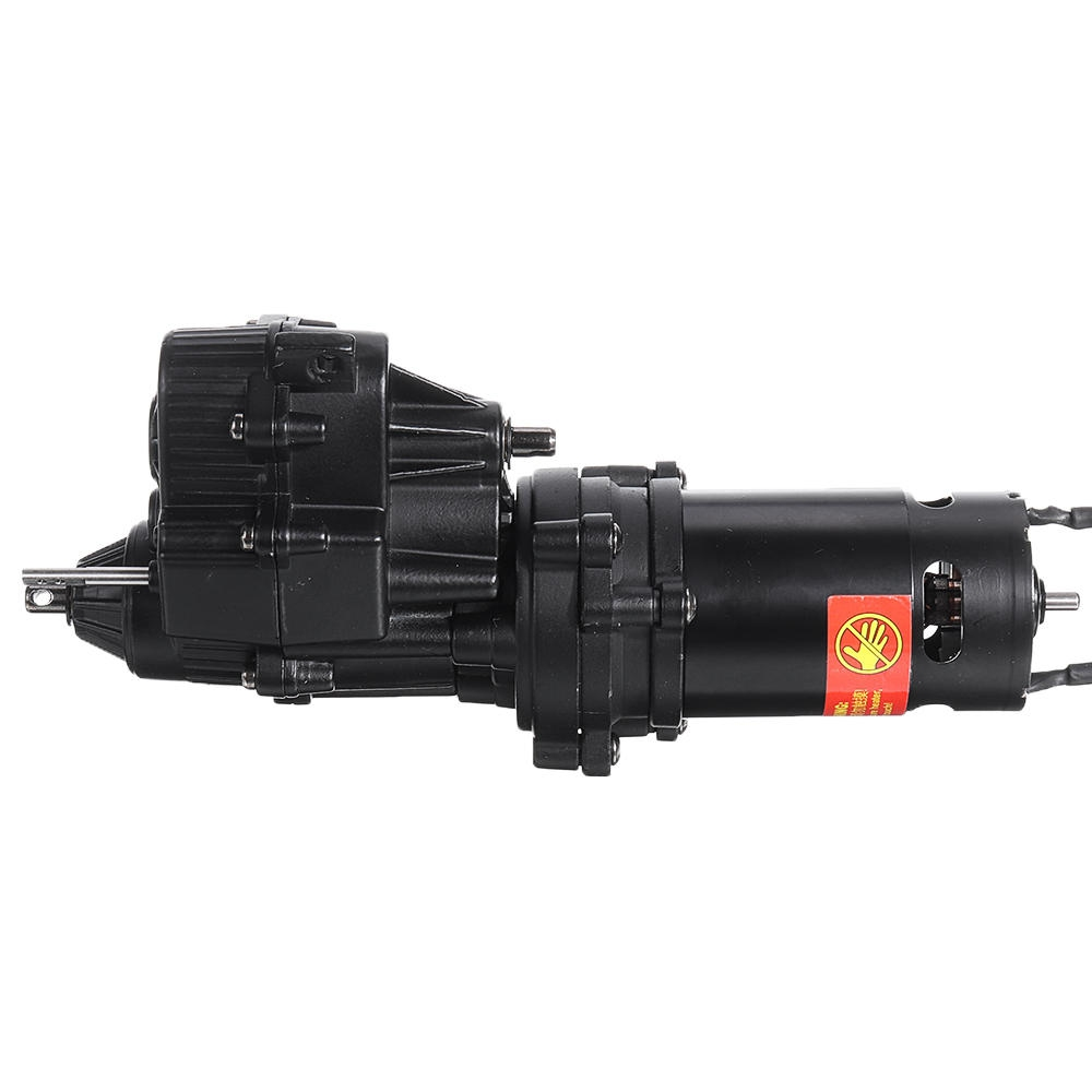 HG P408 1/10 U.S.4X4 Military Vehicle Truck RC Car Spare Parts Metal HM Gearbox Assembly With 550 Motor
