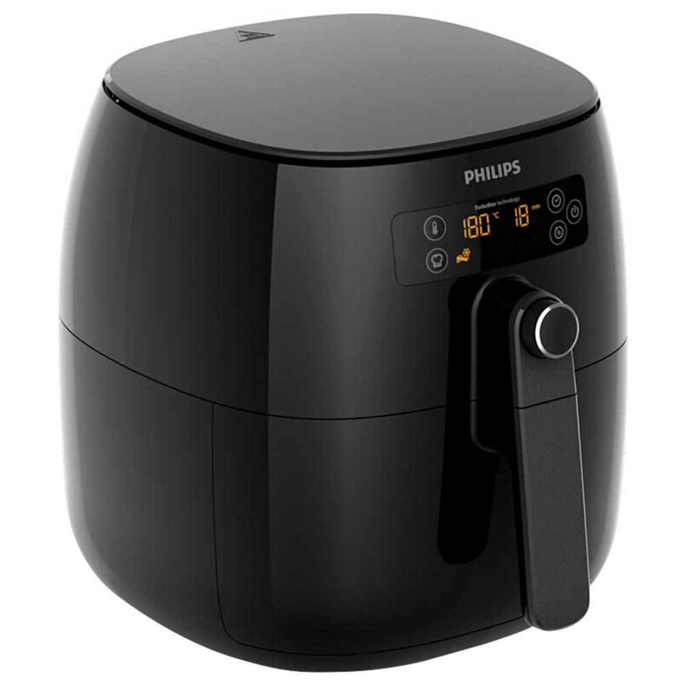 Philips 3L 1300W Electric AirFryer Multifunction Digital Touchscreen - Black фото