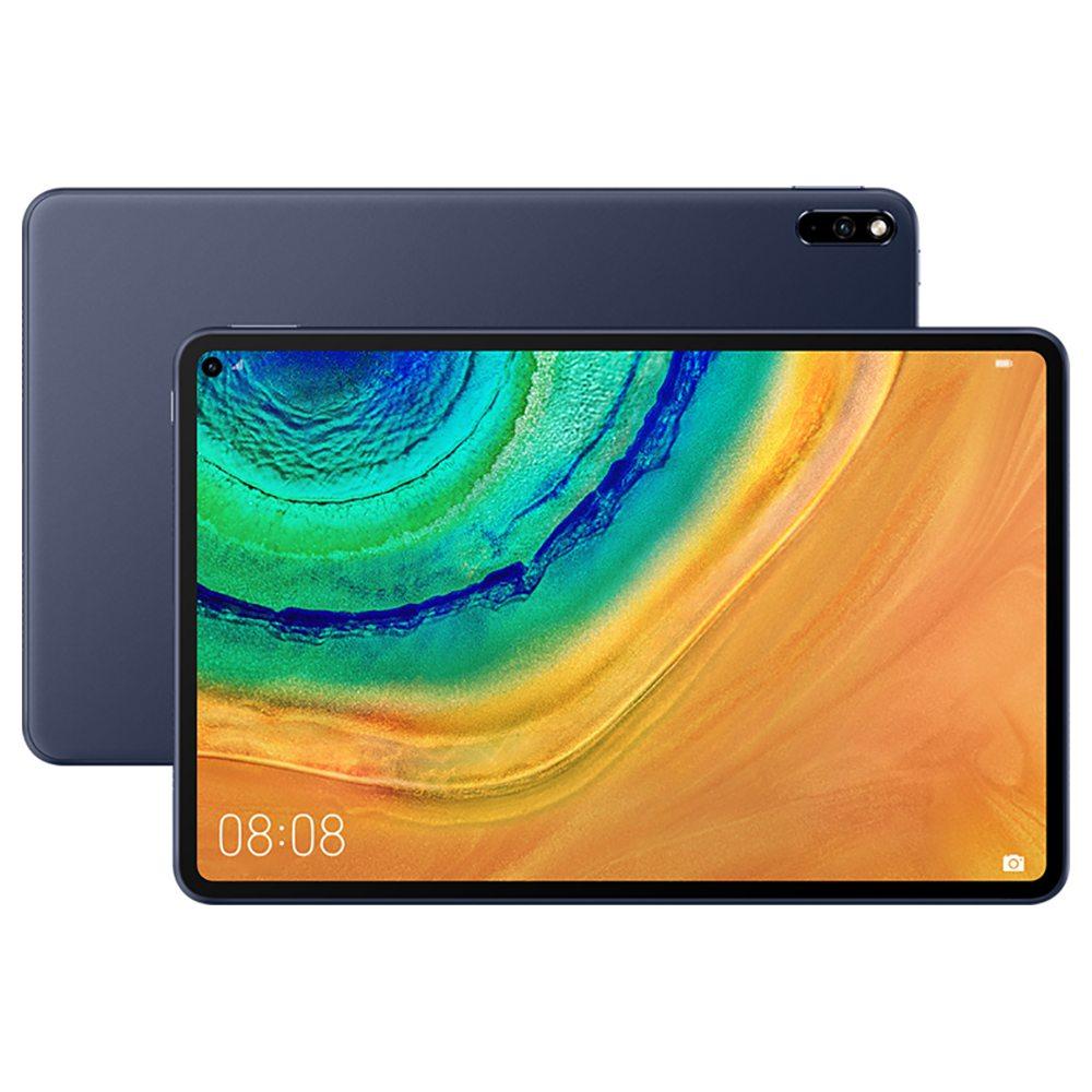 الكمبيوتر اللوحي هواوي MatePad Pro 4G اللوحي HiSilicon Kirin 990 Octa Core Mali G76 10.8 Inch IPS 2560 * 1600 Android 10.0 6GB RAM 128GB ROM - Grey