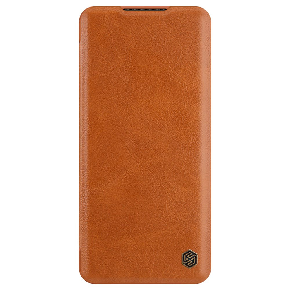 NILLKIN Protective Leather Phone Case For Xiaomi CC9 Pro / Xiaomi Mi Note 10 / Xiaomi Mi Note 10 Pro Smartphone - Brown